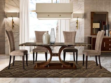 Rectangular marble table RICHMOND   Rectangular table