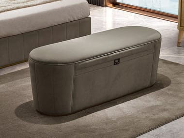 Upholstered fabric bench RICHMOND | Upholstered bench