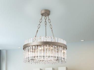 Lead Crystal pendant lamp RIFLESSI 7200 | Pendant lamp