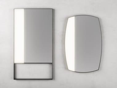 Espelho retangular moldurado de parede RIFLESSI | Espelho retangular