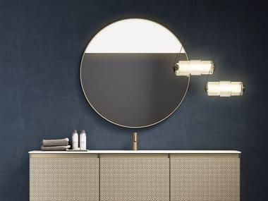 Espelho redondo moldurado de parede RIFLESSI | Espelho redondo