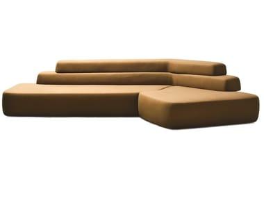 Sectional fabric or leather sofa RIFT | Sofa