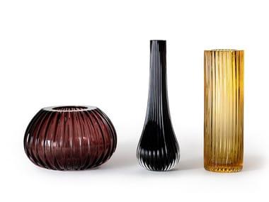 Vaso in vetro di Murano RIGATI