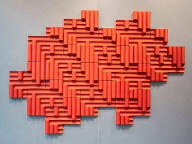 Porcelain stoneware 3D Wall Tile RILIEVI | 3D Wall Tile