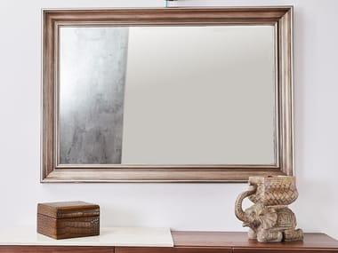 Rectangular framed wooden mirror RING | Framed mirror