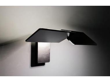 Lampada da parete a LED orientabile in alluminio RIO 3