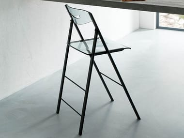 High folding Vitrex stool RIPIEGO | High stool