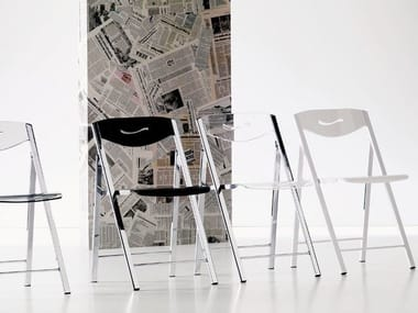 Folding Vitrex chair RIPIEGO | Vitrex chair