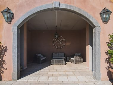 Natural stone arched doorway Prefabricated façade element 11