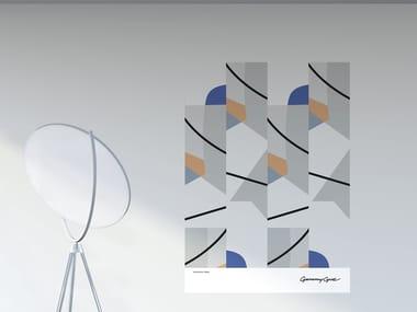 Decorazione adesiva a motivi in PVC RITMO | Poster