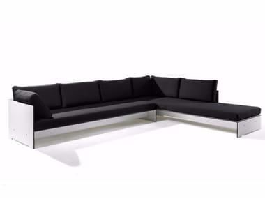 Corner sectional upholstered sofa RIVA COMBINATION A