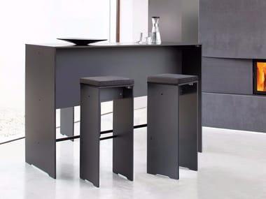 Rectangular HPL high table RIVA | High table