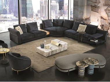 Modular fabric sofa RIVERSIDE
