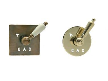 Metal Valve, sluice, sluice gate for system RKA01BR/RKA02OR | Gaz shut off valve