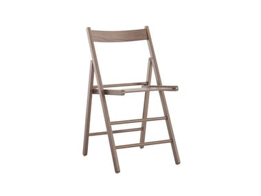 Folding beech chair ROBY 451