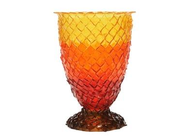Vaso in resina ROCK EXTRA COLOUR