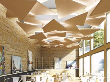Acoustic ceiling clouds Rockfon® Eclipse™