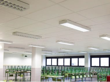 Ceiling systems for special applications ROCKFON® SYSTEM OLYMPIAPLUS A IMPACT 1A™