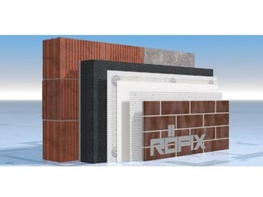 Panel for facade RÖFIX StoneEtics® 50 Clinker