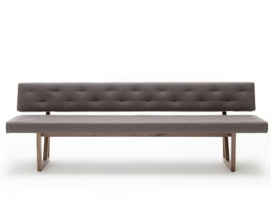 Tufted fabric bench ROLF BENZ 624 | Fabric bench