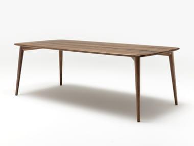 Tavolo rettangolare in legno massello ROLF BENZ 900 | Tavolo rettangolare