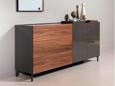 Cassettiera in legno ROLF BENZ 9200 STRETTO | Cassettiera