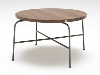 Round Wooden Coffee Table For Living Room ROLF BENZ 947 | Wooden Coffee  Table