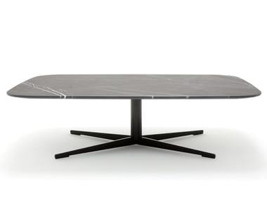 Tavolino rettangolare in pietra ROLF BENZ 959 | Tavolino in pietra