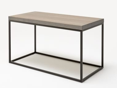 Rectangular wooden high side table ROLF BENZ 985   High side table