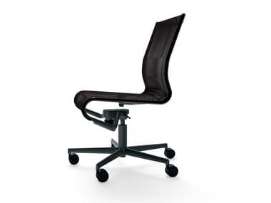 Chaise de bureau réglable en hauteur pivotante à roulettes ROLLINGFRAME 52 - 471