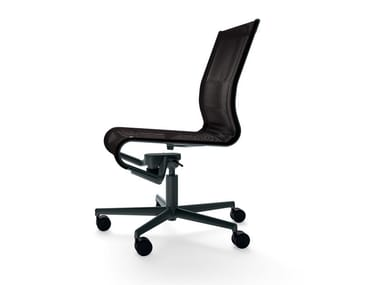 Höhenverstellbarer drehbarer Bürostuhl mit Rollen ROLLINGFRAME 52 - 471