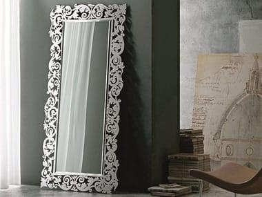 Espelho retangular moldurado de parede ROMANTICO | Espelho retangular