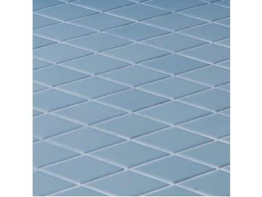 Pavimento/rivestimento in gres porcellanato ROMBINI LOSANGE BLUE
