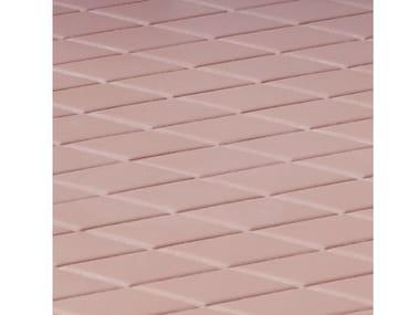 Pavimento/rivestimento in gres porcellanato ROMBINI LOSANGE RED