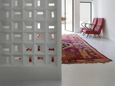 Plaster room divider RONCHAMP