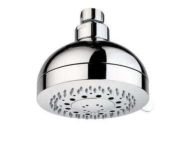 Contemporary style wall-mounted 3-spray overhead shower with arm RONDO - Ø 100