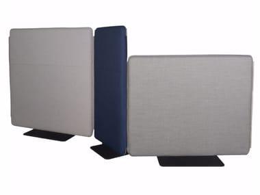 Fabric room divider STREAM | Room divider