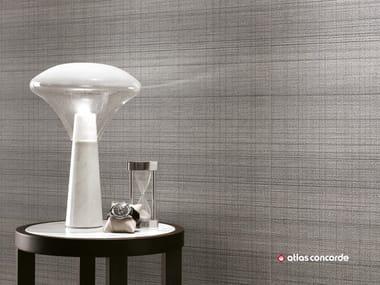 Rivestimento in ceramica a pasta bianca effetto tessuto ROOM WALL | Rivestimento in ceramica a pasta bianca