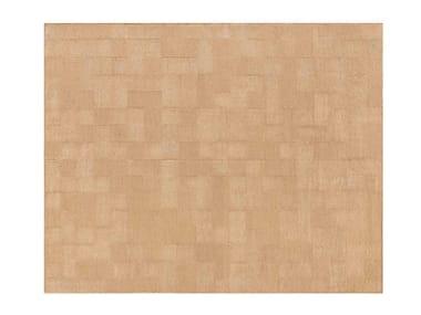 Rechteckiger Teppich aus Jute ROOTS RUG 04