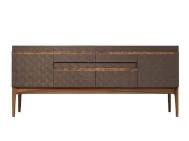 Madia laccata in legno impiallacciato ROSA | Madia
