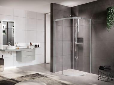 Box doccia con porta scorrevole ROSE ROSSE | R