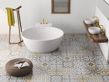 Vasca da bagno centro stanza rotonda BETA ESSENTIAL | Vasca da bagno rotonda