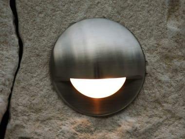 Segnapasso a LED a parete in alluminio per esterni SMILE | Segnapasso a parete