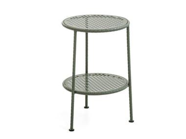 Round steel coffee table WORK IS OVER | Round coffee table