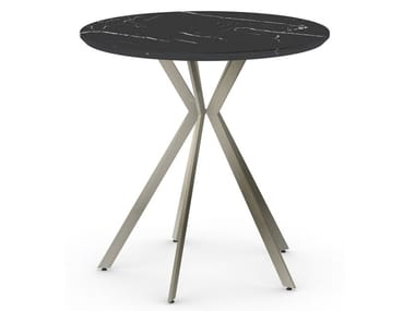 Round iron table PLEC   Round table