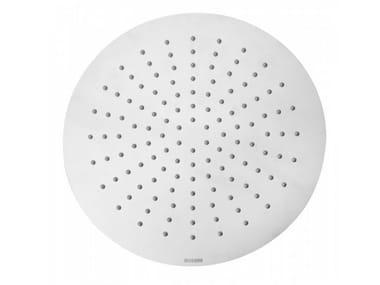 Round stainless steel overhead shower TETIS | Round overhead shower