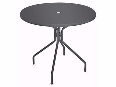 Round plate table SOLID | Round table