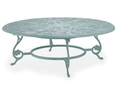 Round aluminium garden table BARRINGTON | Round table
