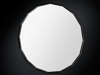 Wall-mounted round hall mirror ROUND | Mirror