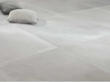 Porcelain stoneware flooring with concrete effect ROUTE 66